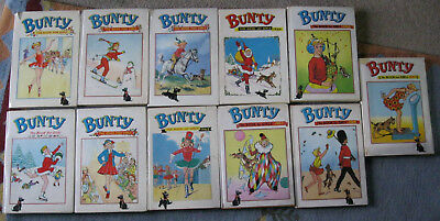50 BUNTY ANNUALS - Complete set 1960 - 2009 in great condition