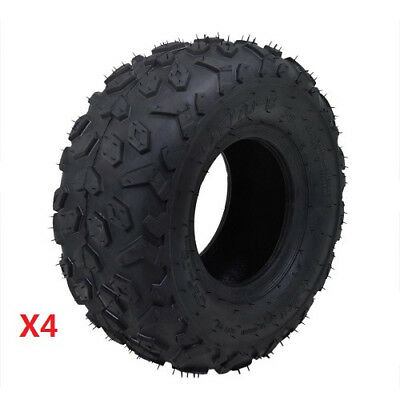 "4pack 145/70 - 6"" inch Front Rear Tyre Tire Kids Quad Bike ATV Buggy Go kart"