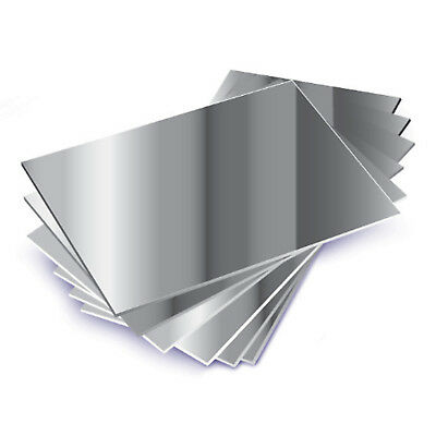 MIRROR ACRYLIC SHEET PERSPEX A4 297 x 210 x 1MM PHOTO FRAMES ARTS AND CRAFTS