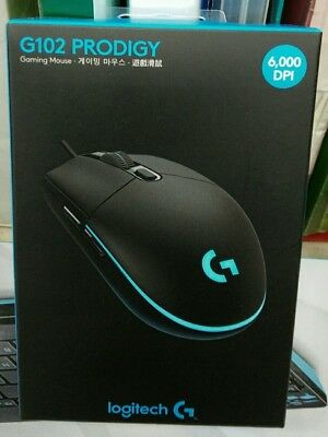 ▲Christmas NEW LOGITECH G102 PRODIGY USB WIRED GAMING 6000 DPI MOUSE