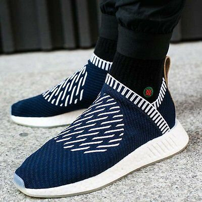 64a06532a03 Adidas NMD CS2 City Sock 2 Navy PK Size 10.5. BA7189 yeezy ultra boost