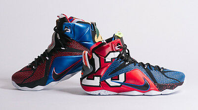 47dd7f83f6cb NIKE LEBRON 12 Xii Se (Lebron James) (What The.. Edition)..multi ...