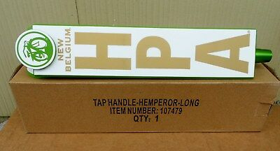 New Belgium Brewing Co Hemperor Hpa Ale Long Beer Tap Handle New In Box 12 Inch