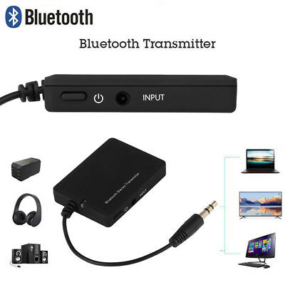 Wireless Bluetooth V2.1 A2DP Stereo 3.5mm Audio Transmitter Dongle for TV MP3