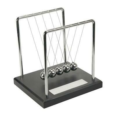 Personalised Newton's Cradle / Kinetic Executive Desk Plaque - Can Be Engraved