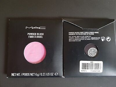 MAC POWDER BLUSH (PRO PALETTE REFILL PAN) Shade Peony Petal 6g