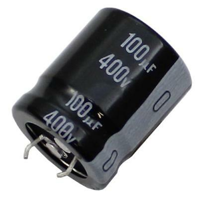 5x Snap-In Electrolytic Capacitor 100µF 400V 105°C ; LGN2G101MELZ25 ; 100uF