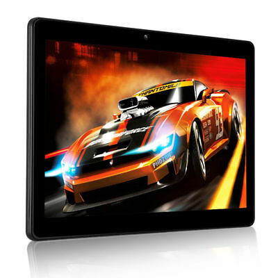 10,1 '' Tablette Android Quad Core 4+64Go Double Carte & Caméra HD WIFI Phablet