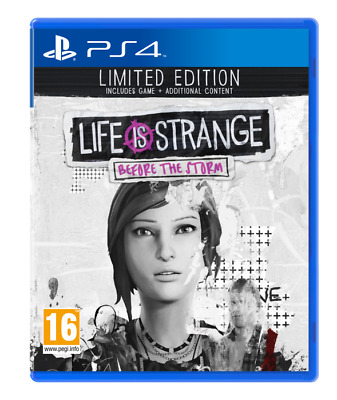 S4 Life is Strange Before The Storm LE -  PS4
