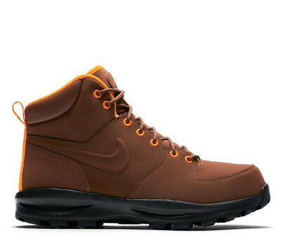 new product 58964 a6803 Neu Herrenschuhe Jungen Sneakers Trainers NIKE MANOA LEATHER 454350-203
