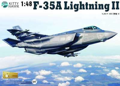 KittyHawk Model kit #80103 1/48 Loc#eed-Martin F-35A Lightning II
