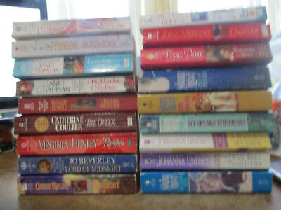 Lot of 18 Historical Romance books ~LORDS,HIGHLANDERS,CASTLES,KNIGHTS