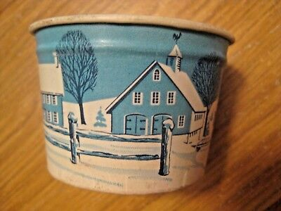 Nos Vintage Heileman's Dixie Cup Ice Cream Advertising Container Jefferson Wis.