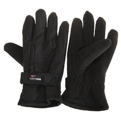 RockJock Mens Thermal Insulation Touch Fasten Gloves (GL604)