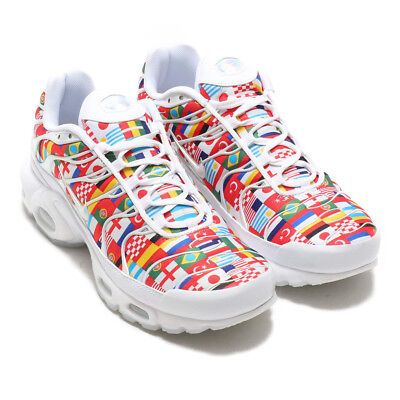 newest e9019 9d92d NIKE AIR MAX PLUS NIC QS TN International Flags Trainers Sneaker UK10 US11  EUR45