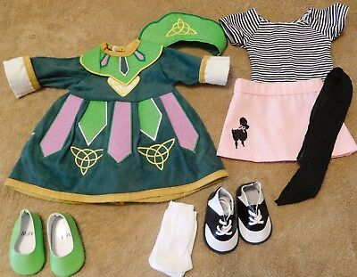 """Lot Of Doll Clothes For 18"""" Doll (Such As American Girl)...New....Lot # 5"""