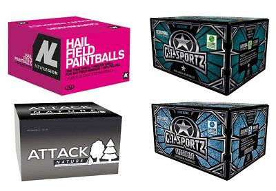 Winter Paintballs Package - 1x New Legion Hail, 1x Attack Nature, 1x GI Sportz 1