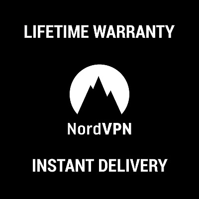 Nord VPN Lifetime  Subscription And Warranty - INSTANT DELIVERY !!!