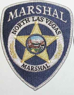 NORTH LAS VEGAS MARSHAL Nevada NV Police patch