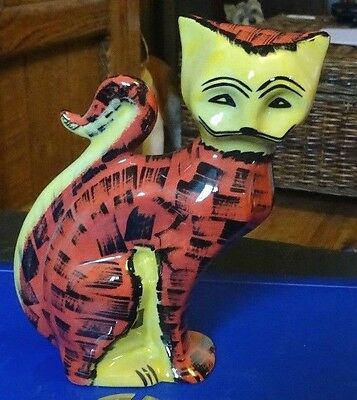 Lorna Bailey Pottery POLKA cat Limited Edition 40/50 Excellent Cond FREE P&P %