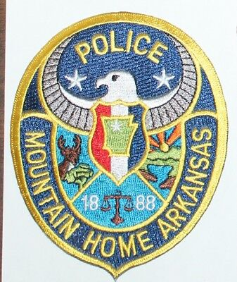 MOUNTAIN HOME POLICE Arkansas AR PD patch