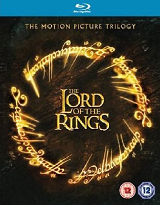 The Lord of the Rings Blu Ray  Trilogy (UK IMPORT) Blu-Ray NEW