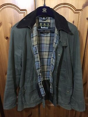 Barbour Ashby Wax Jacket | Olive Green | Size L