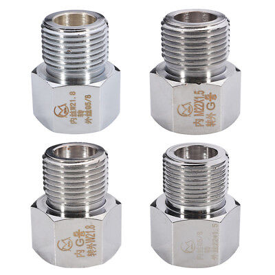 Chrome CO2 Cylinder Joints Regulator Adapter Connector Aquarium W21.8 To G5/8