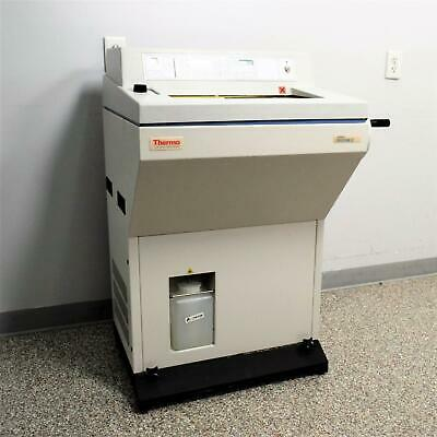 Thermo Shandon Cryotome E Cryostat Microtome 77200187 Issue 5 Tissue Sectioning