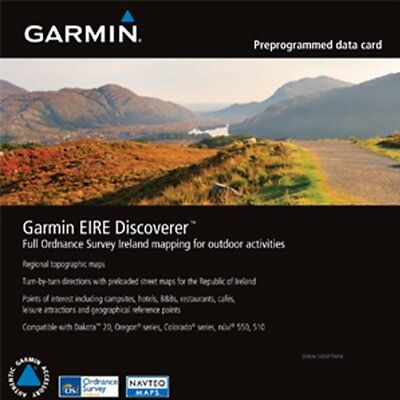 Garmin EIRE Discoverer North East Ireland Map microSD Card (W19)