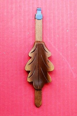 New  genuine Black Forest hand carved German cuckoo clock pendulum,  ( 4 a ).
