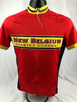 Verge New Belgium Brewing Co. Cycling Jersey SIZE Medium (3h)