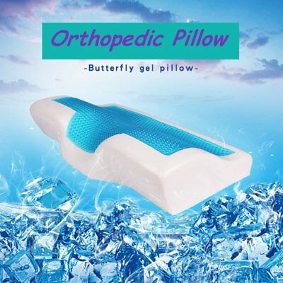 Slow Rebound Comfortable Memory Foam Pillow Butterfly Shaped Orthopedic PillowO3