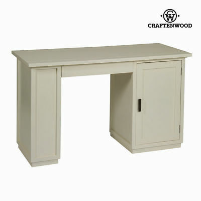 S0101786 Craftenwood Desk Wood mindi White 130 x 78 x 55 cm Seriou sam premier
