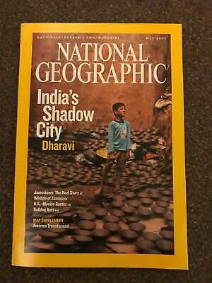 National Geographic Magazine - May 2007 India's Shadow City