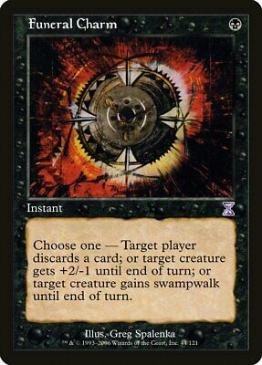 Bad Moon Time Spiral Timeshifted HEAVILY PLD Black Special MAGIC CARD ABUGames