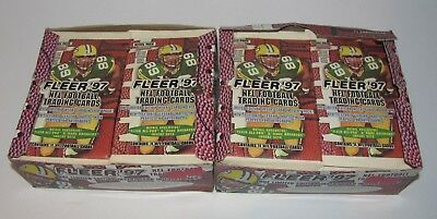 Lot (36) 1997 Fleer Football Card Retail Packs Equals (2) Retail Boxes All-Pro