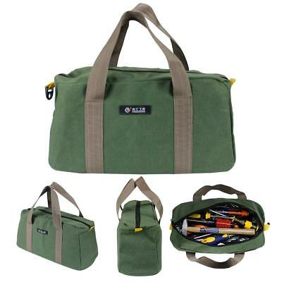 Multi-use 12 in. 14in. & 16 in.Tool Bag Canvas Waterproof Hardware Storage Pouch
