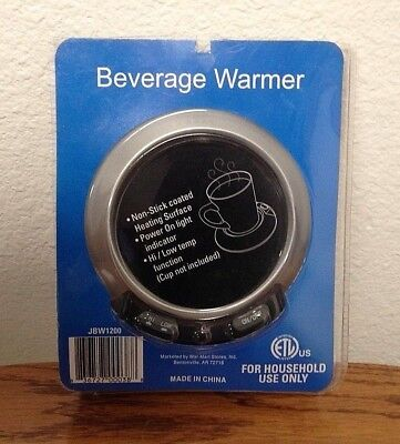 Electric Beverage Warmer * On/Off Switch * Hi/Low Setting * New in Package