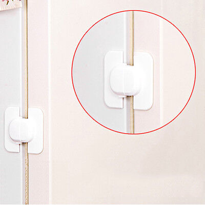 Cabinet Door Drawers Refrigerator Toilet Safety Plastic Lock For Child Kid WM