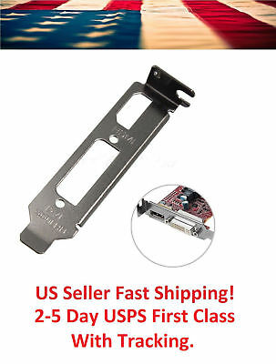 Low Profile Bracket Adapter HDMI & DVI Port For Half Height Graphics Video Cards