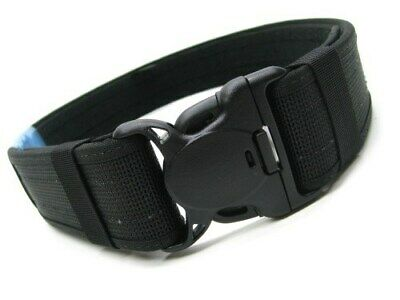 "Bianchi 31322 Medium 34""-40"" Waist Black 8100 Patrol Tek 2"" Web Duty Belt"
