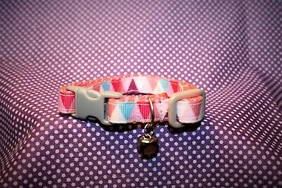 """The Harlequin"" - Bespoke Handmade Cat Collar -"