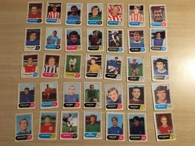 A&BC Green Back Football Cards 1969 - VGC!  Pick The Card you want