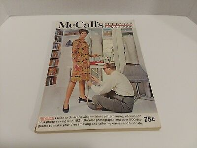 McCall's Step-by Step Sewing Book (1967, Paperback)