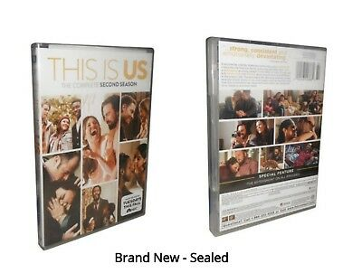 This Is Us: The Complete Second Season 2 (DVD, 2018, 5-Disc Set)
