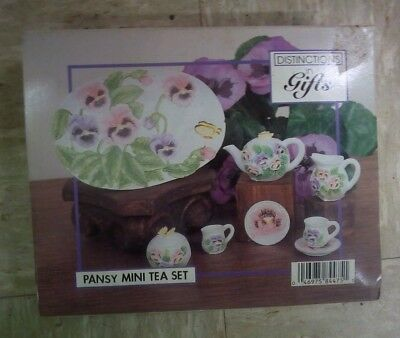 Distinctions in Gifts Pansy Mini Tea Set