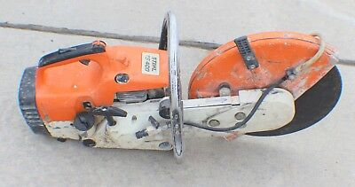 """STIHL TS 400 13"""" Concrete Cut-Off Saw with Water Line"""
