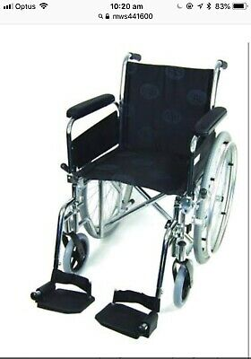 New Mws441600 Wheelchair Folding Std-Osd Pick Up Available Free Local Delivery
