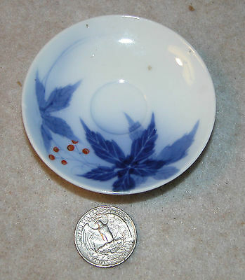 Vintage Small Saucer with Japanese Style Design & Scented Orchid Marking